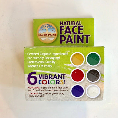 Natural Earth Paint Face Paint
