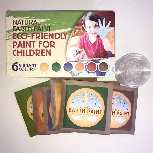 Natural Earth Paint Eco-Friendly Paint for Children