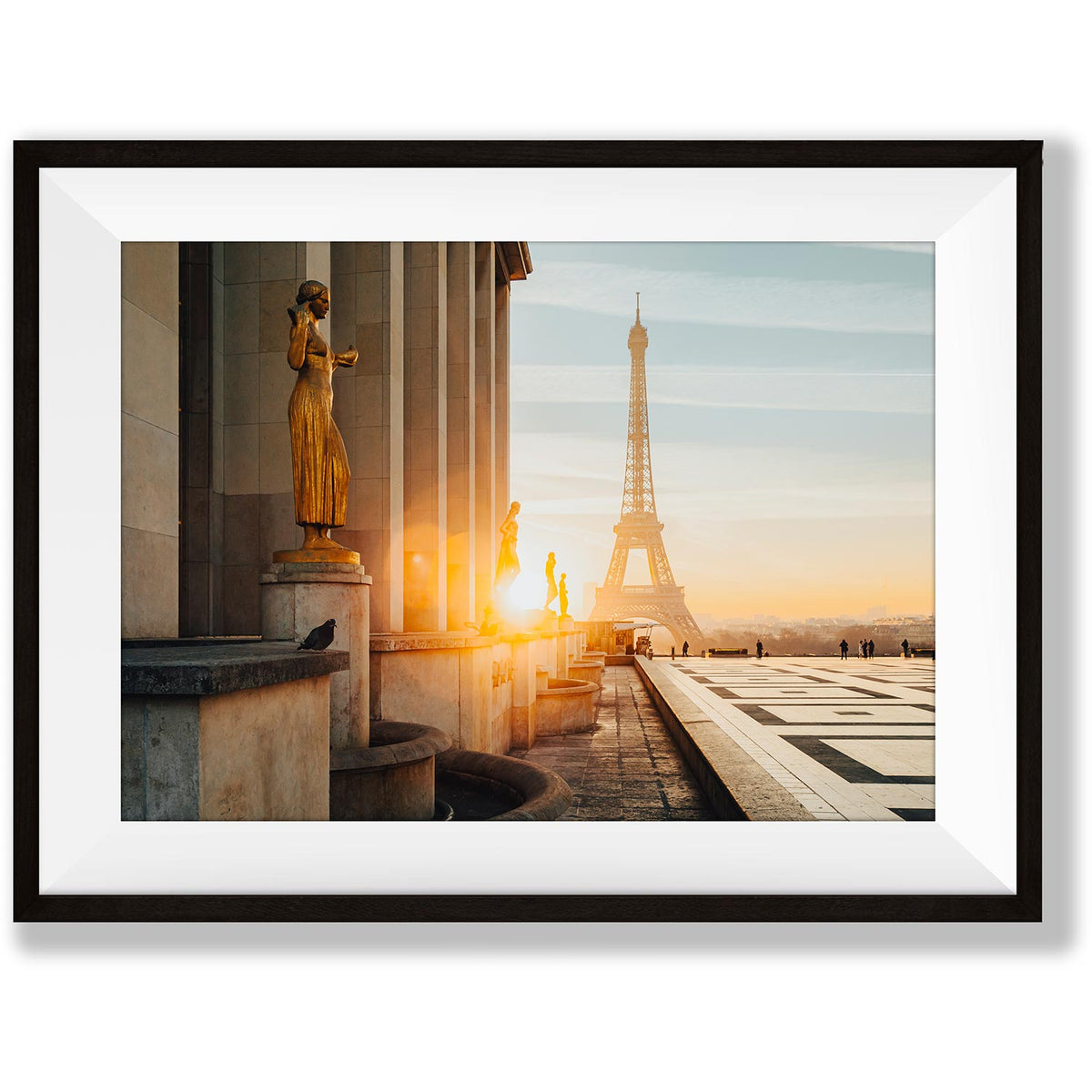 A morning in Paris - Trocadero