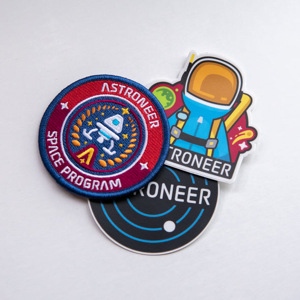 Astroneer Patch & Sticker Set