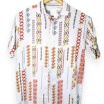 Retro Printed White Shirt (SH130)