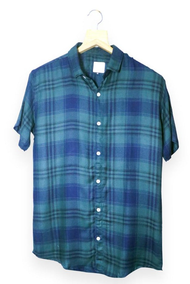 Green Checked Shirt (SH120)