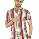 Red & Yellow Striped Shirt (SH150)