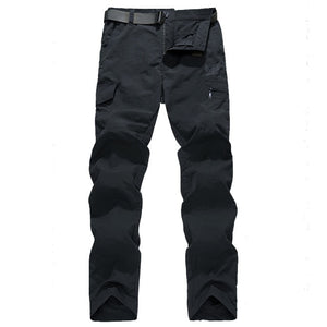 Men's Military Style Cargo Pants Men Summer Waterproof Breathable Male Trousers Joggers Army Pockets Casual Pants Plus Size 4XL