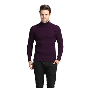 Thick Warm Turtleneck Cashmere Sweater