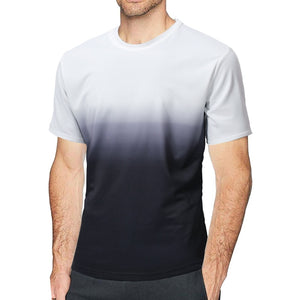 Cotton Gradient T-shirt for Men