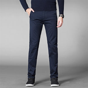 Stretch Cotton Formal Dress Pant