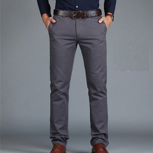 Loose Cotton Full Length Men Pant
