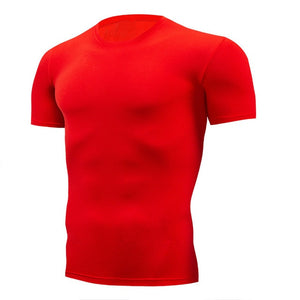 Fashion Pure Color Men T-shirt