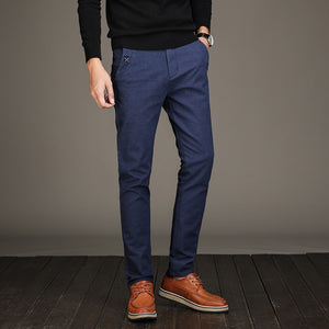 Men Long Length Straight Pant