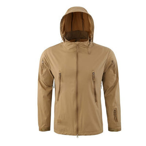 Outdoor Waterproof Soft Shell Jacket