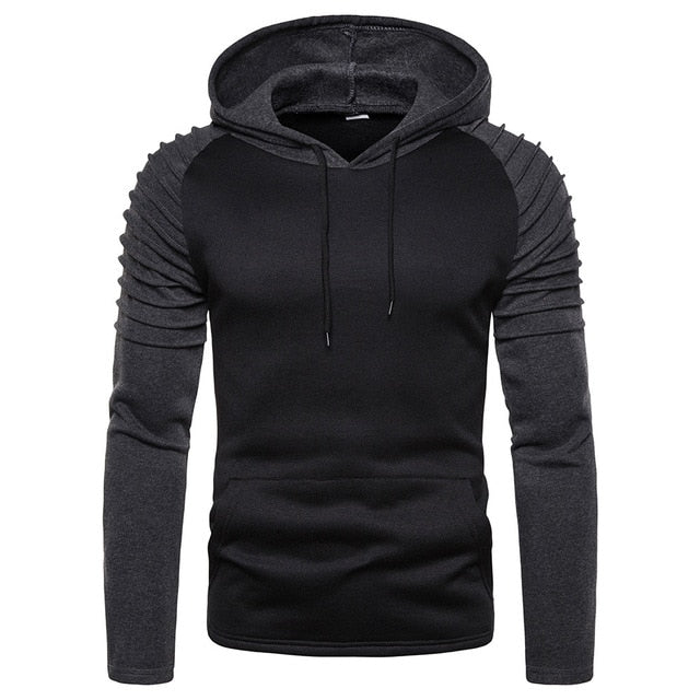Long Sleeve Solid Color Hoodies