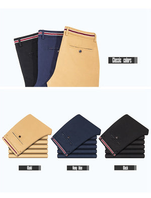 Men Spring Summer Cotton Pant