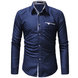 Men's autumn casual one-piece Shirt
