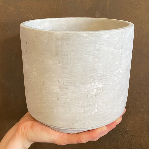 Cement Pot - Light | 16cm