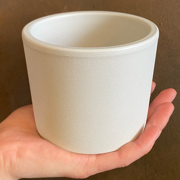 Matt Pot - White | 10cm