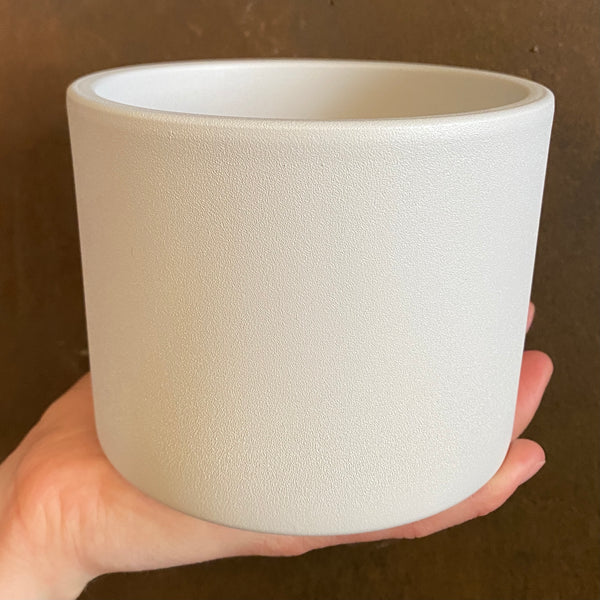Matt Pot - White | 12cm