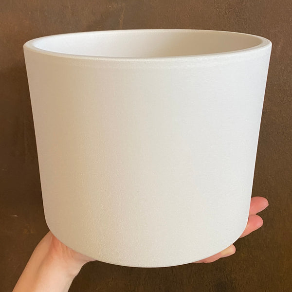 Matt Pot - White | 18cm
