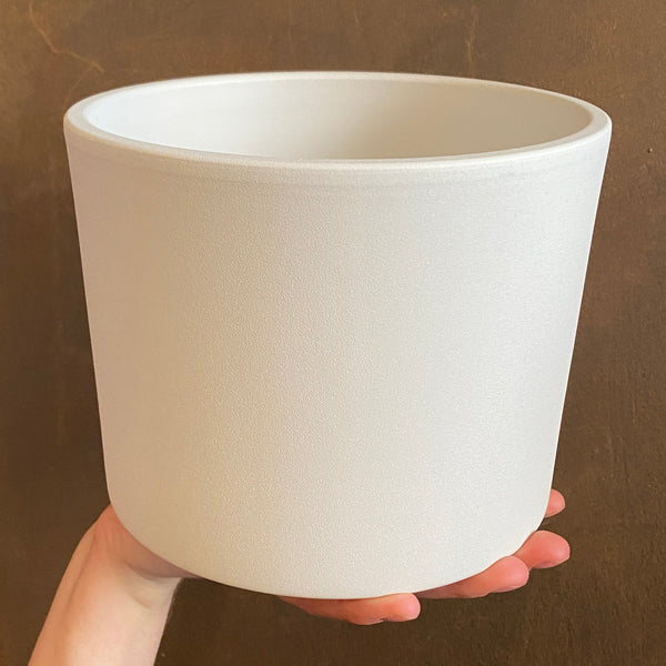 Matt Pot - White | 20cm