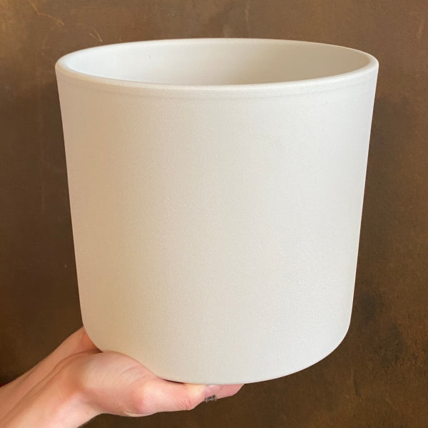 Matt Pot - White | 23cm