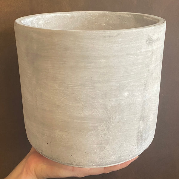Cement Pot - Light | 18cm