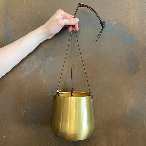 Hanging Brass Pot | 14cm