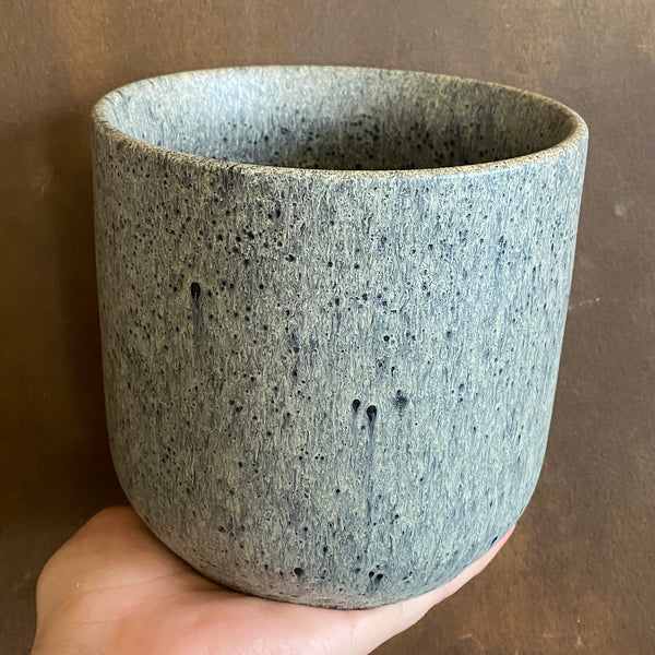 Satin Pot - Vintage Grey | 14cm