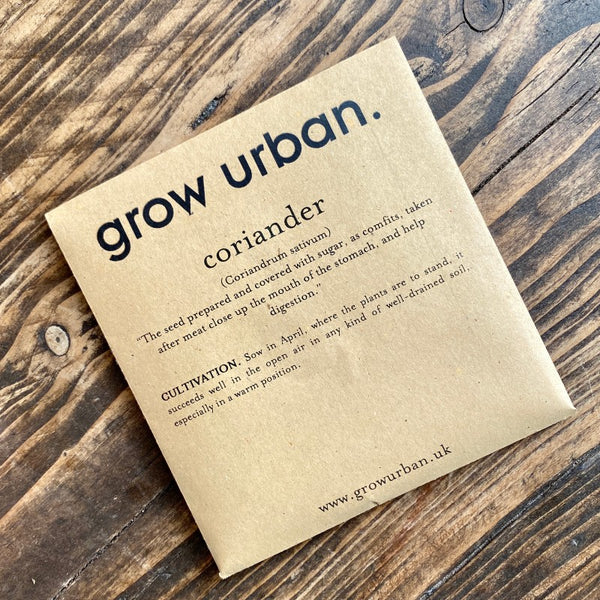 grow urban. Seeds - Herbs