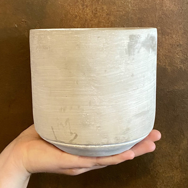 Cement Pot - Light | 14cm