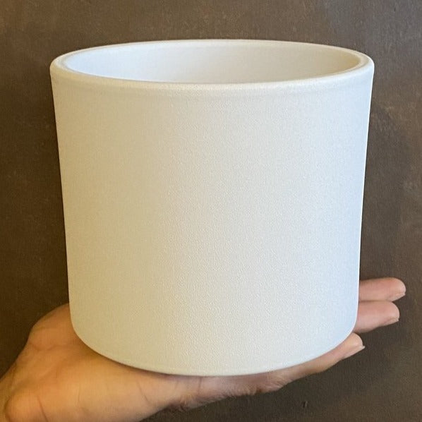 Matt Pot - White | 14cm