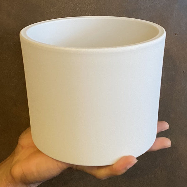 Matt Pot - White | 15cm