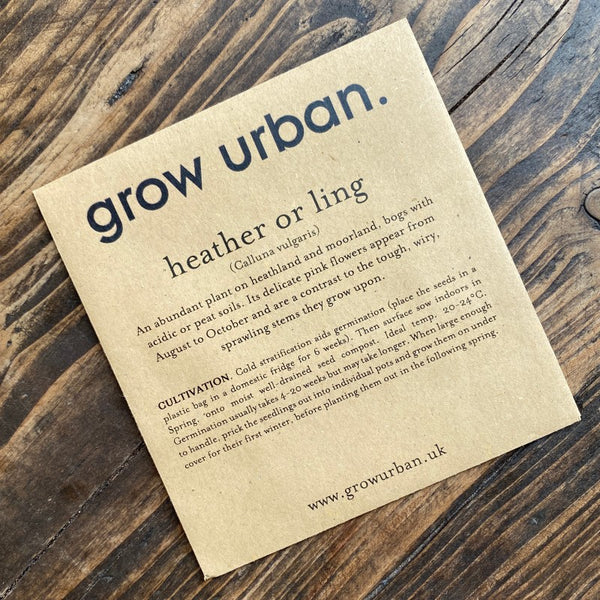 grow urban. Seeds - Flowers
