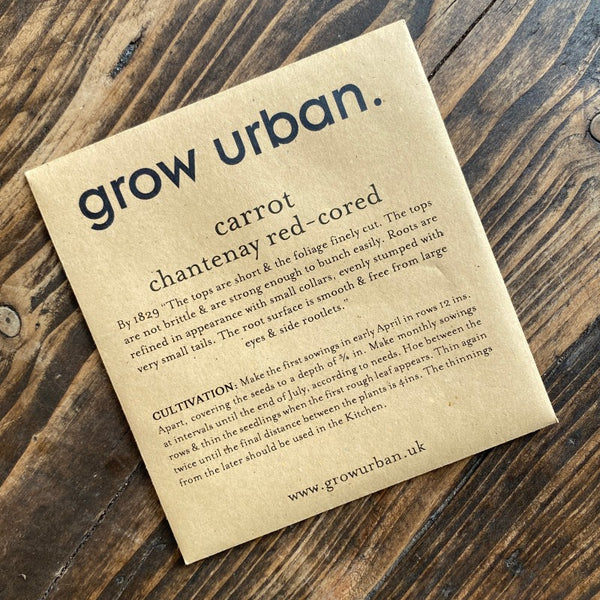 grow urban. Seeds - Fruit & Veg