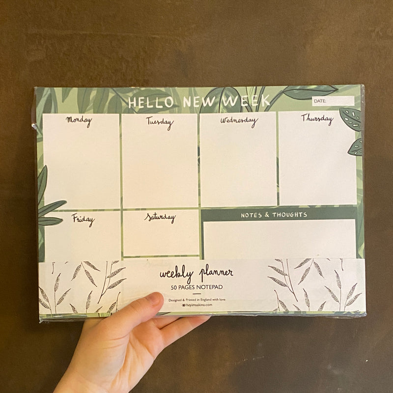 Weekly Planner for Plant Lovers