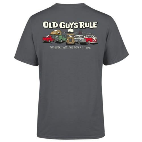 Old Guys Rule 'Parking Lot 3' Tee Shirt - Stokedstore