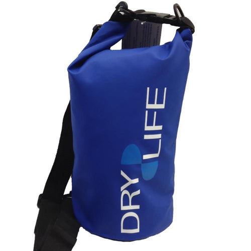 Dry Life 30 Litre Waterproof Tube Bag: Blue | Grey - Stokedstore