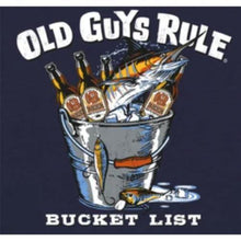 Load image into Gallery viewer, Old Guys Rule 'Bucket List' Tee Shirt - Stokedstore