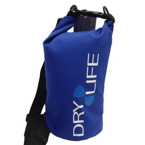 Dry Life 5 Litre Waterproof Tube Bag: Blue | Grey | Red | Yellow - Stokedstore