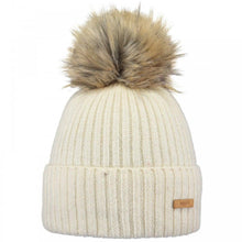 Load image into Gallery viewer, Barts Augusti Beanie: Cream | Mint - Ladies - Stokedstore