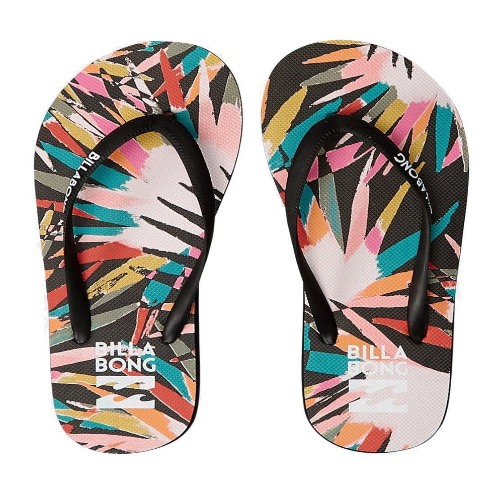 Billabong Dama Flip Flops: Palm | Hawaii - Womens - Stokedstore