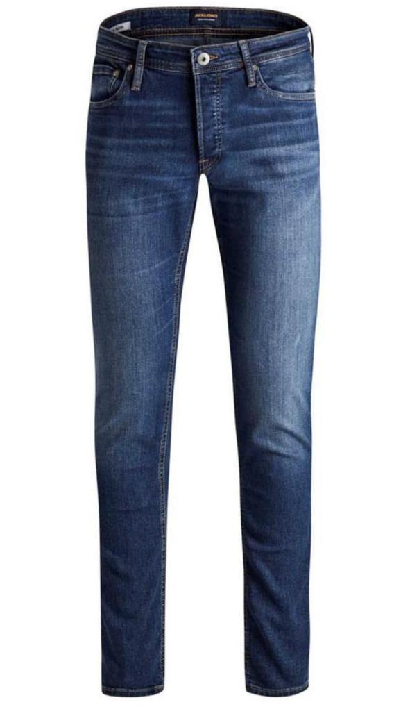 Jack & Jones GLENN Original AM 814 NOOS Jeans: Blue Denim - Mens - Stokedstore
