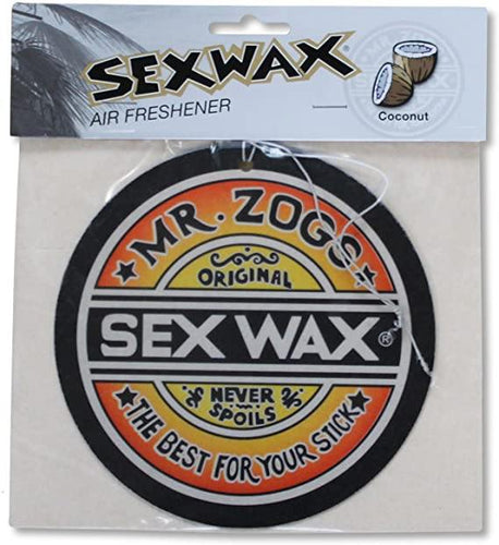 Sex Wax Jumbo XL Air Freshener: Coconut - Stokedstore