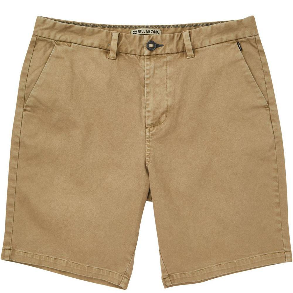 Billabong New Order Wave Wash Shorts: Gravel | Raven - Mens - Stokedstore