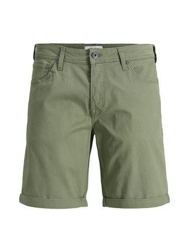 Jack & Jones Rick Original Shorts AKM: Dusty Olive | Kelp - Mens - Stokedstore