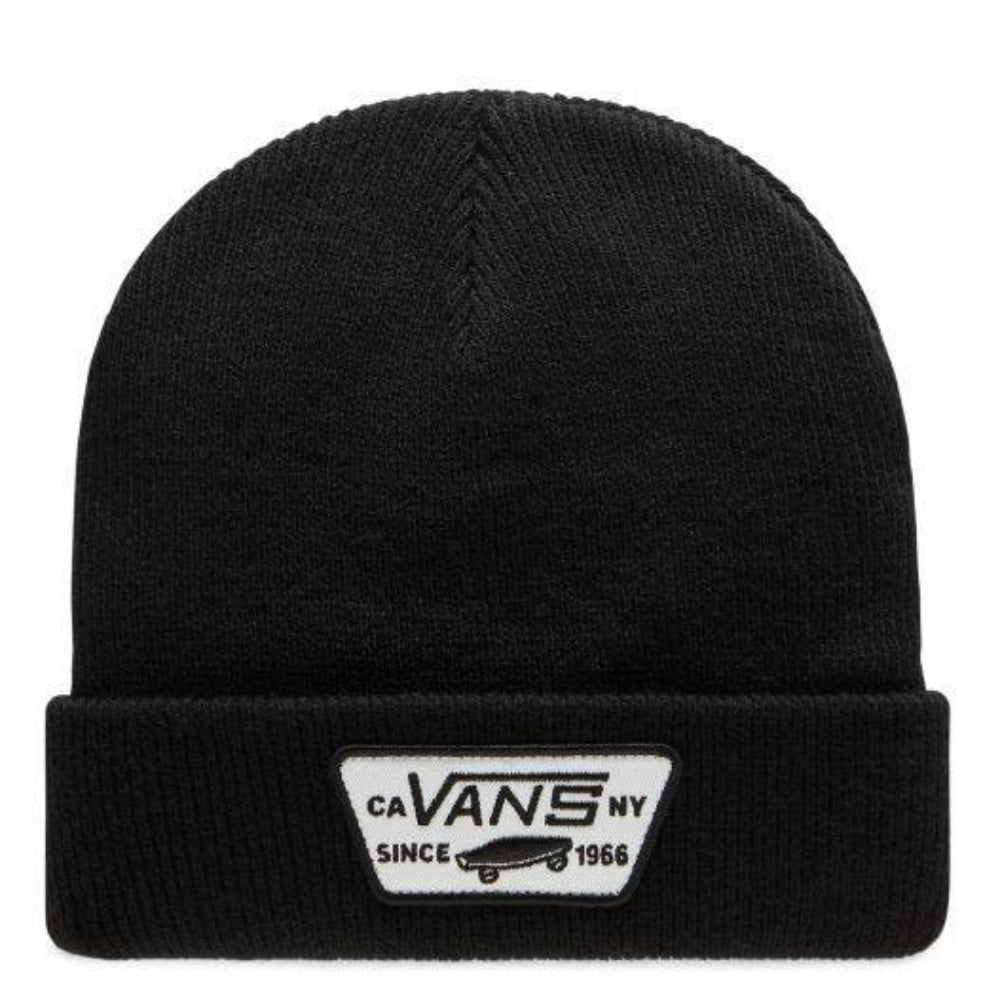 Vans-milford-beanie-black-heather-grey-mens