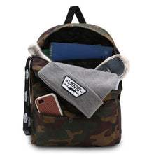 Load image into Gallery viewer, Vans-Old-skool-3-backpack-port-royale-dressblue-white-classic-camo-black-white-checker-black-charcoal-mens7
