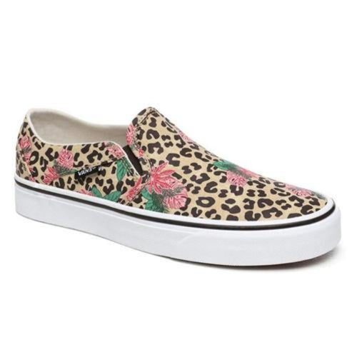 Vans Asher Shoes: Cheetah - Womens - Stokedstore