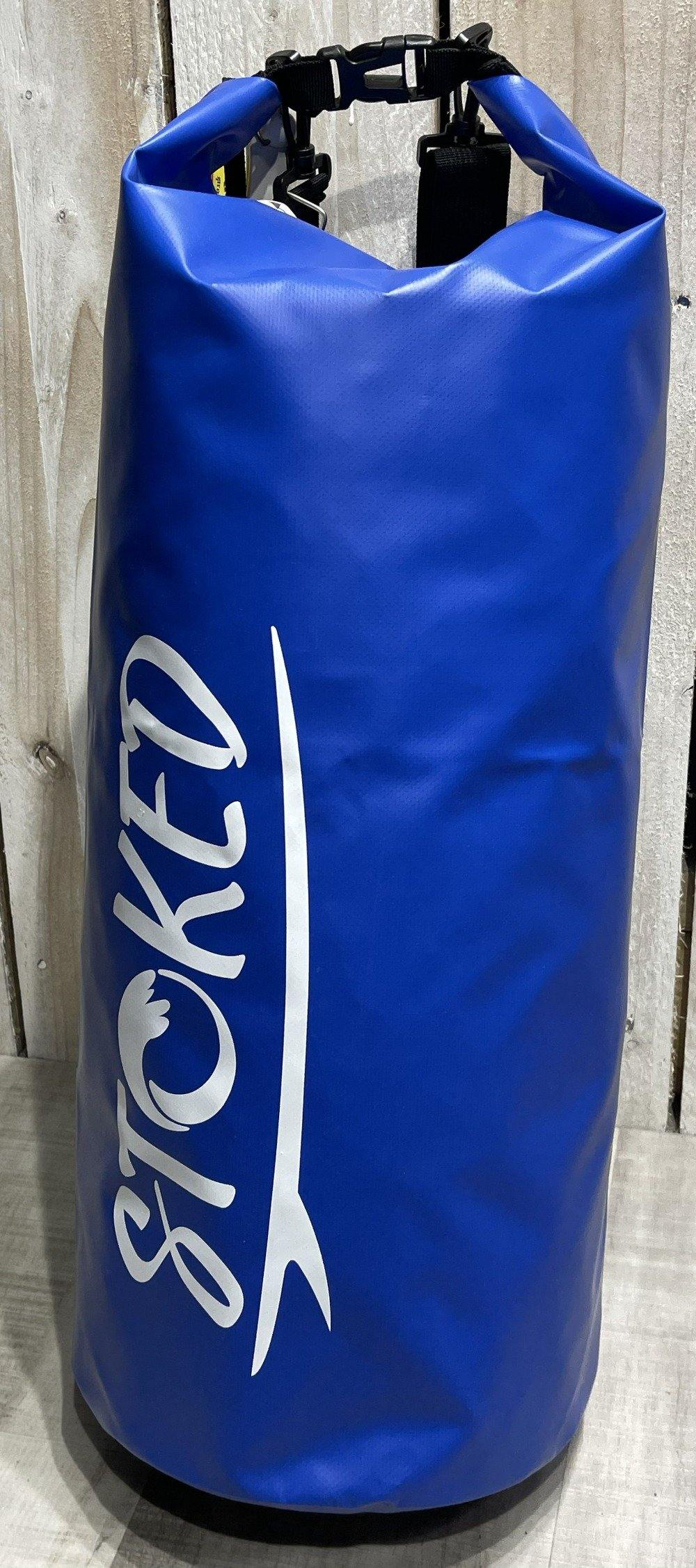 Stoked Dry Life 30 Litre Waterproof Tube Bag: Blue | Red