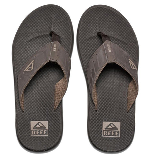 Reef Cushion Bounce Phantom Flip Flops: Brown/Tan - Mens - Stokedstore