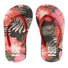 Load image into Gallery viewer, Billabong Dama Flip Flops: Palm | Hawaii - Womens - Stokedstore